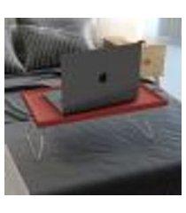 bandeja multiuso alice para notebook neew house vermelho