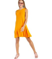 style & co sleeveless knit dress, created for macy's