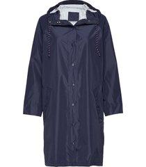 solid magpie raincoat regenkleding blauw becksöndergaard