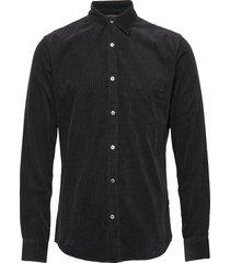 cord shirt silton overhemd casual zwart mads nørgaard