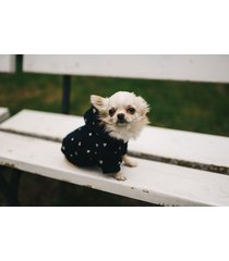 granatowa bluza z kapturem dla psa