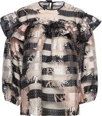 emma blouse lange mouwen zwart hofmann copenhagen