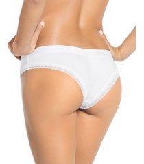 panty hipster blanco leonisa 012914