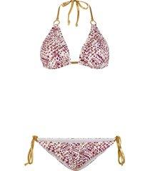 bikini a triangolo (set 2 pezzi) (oro) - bodyflirt