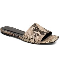 riga snake sandals shoes summer shoes flat sandals beige just female