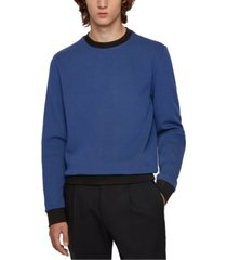 boss men's stadler two-tone sweatshirt
