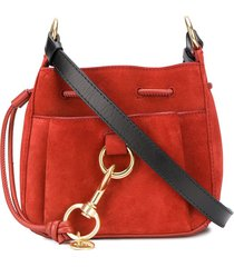 see by chloé slouchy shoulder bag - red