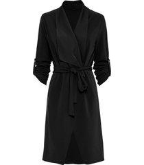 giacca lunga in jersey (nero) - bodyflirt