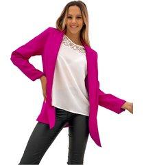 blazer violeta odas largo