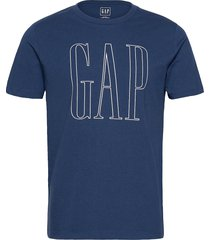 db logo t t-shirts short-sleeved blå gap