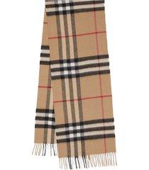 burberry mu giant chk scarf