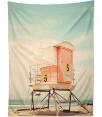 deny designs bree madden beach tower 5 tapestry