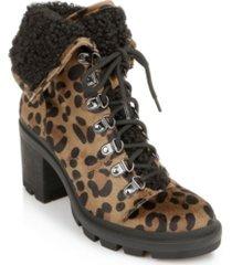 rampage women's sage lug sole hiker booties women's shoes