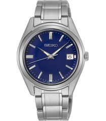 seiko women's essentials stainless steel bracelet watch 36mm