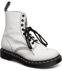 1460 pascal bw shoes boots ankle boots ankle boots flat heel vit dr. martens
