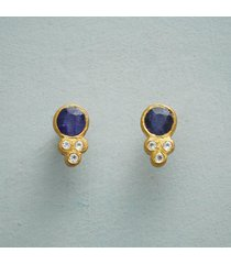bellissimo blue earrings