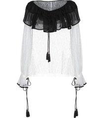 philosophy di lorenzo serafini blouses