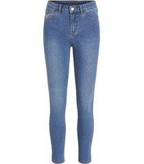 7/8 medium blue jeans / su