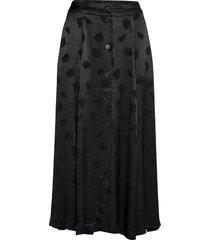 bini skirt 11162 lång kjol svart samsøe samsøe