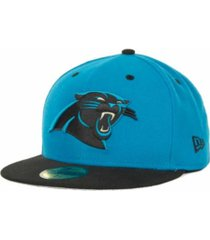 new era carolina panthers 2 tone 59fifty fitted cap