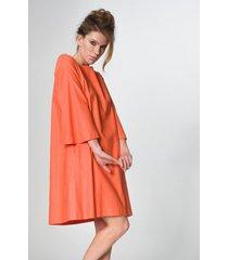 sukienka neo pomarańcz