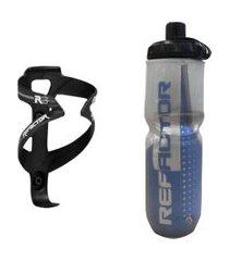 caramanhola garrafa termica bike com suporte e parafusos