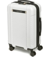 """calvin klein driver 20"""" expandable hardside spinner suitcase, created for macy's"""