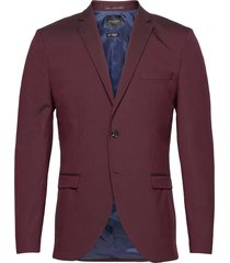 slhslim-mylologan burgundy blazer h b blazer kavaj lila selected homme