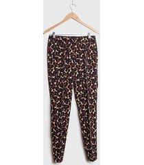 pantalón ash casual multicolor - calce ajustado