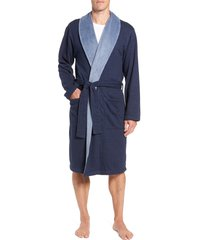 men's ugg robinson robe, size large/x-large - blue
