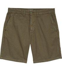 men's carhartt work in progress john chino shorts, size 33 - brown