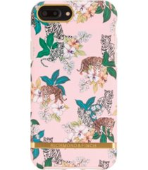 richmond & finch pink tiger case for iphone 6/6s plus, 7 plus and 8 plus