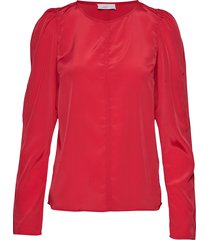 2nd dusk blouse lange mouwen rood 2ndday