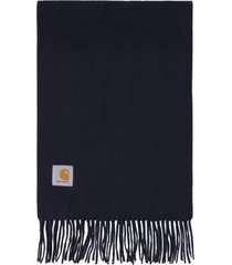 carhartt wool scarf with fringes