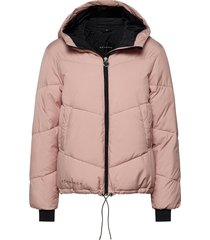 alba puffer jacket gevoerd jack roze röhnisch