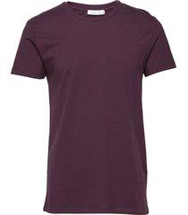 kronos o-n stripe 273 t-shirts short-sleeved lila samsøe samsøe