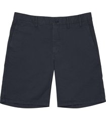 norse projects dark navy aros light twill shorts n35-0237