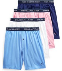 polo ralph lauren men's 3+1 bonus knit boxer
