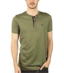 camisetas sesgos verde militar ref. 107011019