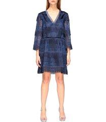 alberta ferretti dress alberta ferretti short dress with fringes