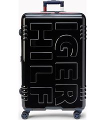 "tommy hilfiger women's 28"" signature spinner suitcase black -"