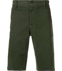 boss slim shorts - green