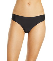 women's knix essential low rise thong, size xx-large - black