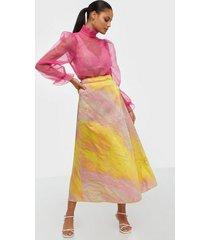co'couture rainbow skirt maxikjolar