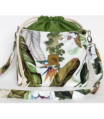 torebka listonoszka egzotyczne wzory