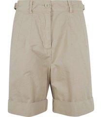 aspesi classic buttoned shorts