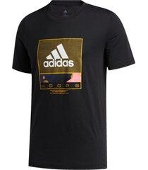 camiseta adidas future hoops preto - preto - masculino - dafiti