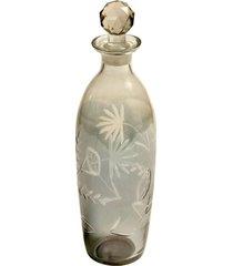 garrafa de vidro decorativa trebbia