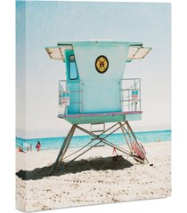 deny designs bree madden santa cruz summer art canvas 16x20""