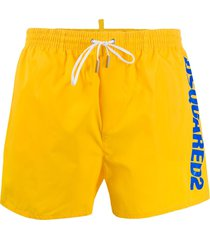 dsquared2 dsquared2 swim shorts - yellow